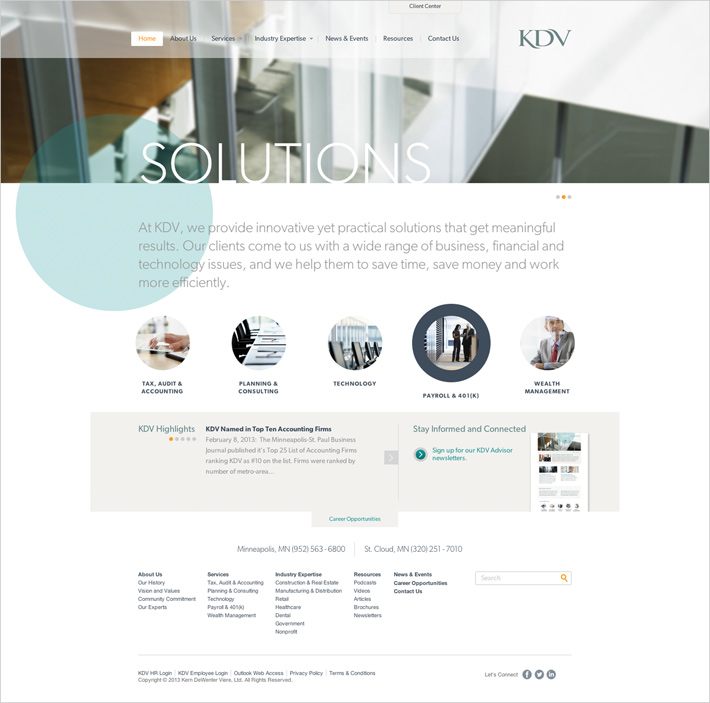 KDV - KDV Website