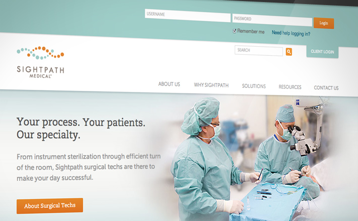 Sightpath Medical - Sightpath Website