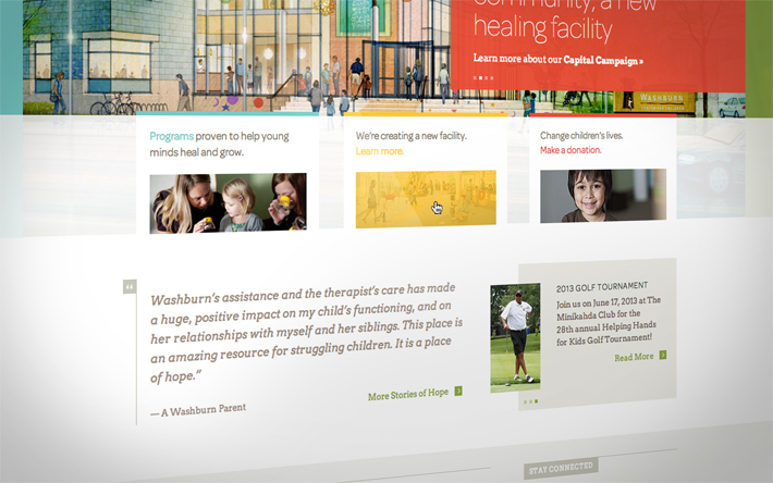 Washburn Center for Children - Washburn Website